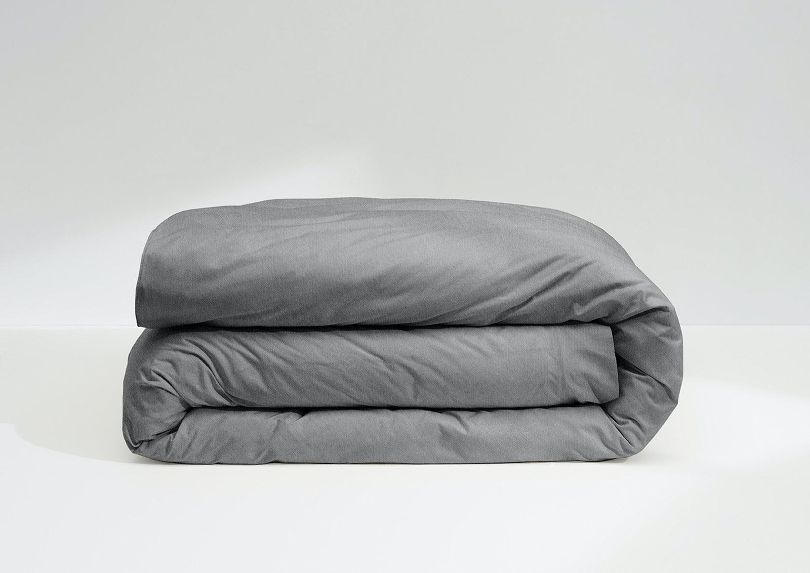 Cool Supima® Duvet Cover, Slate