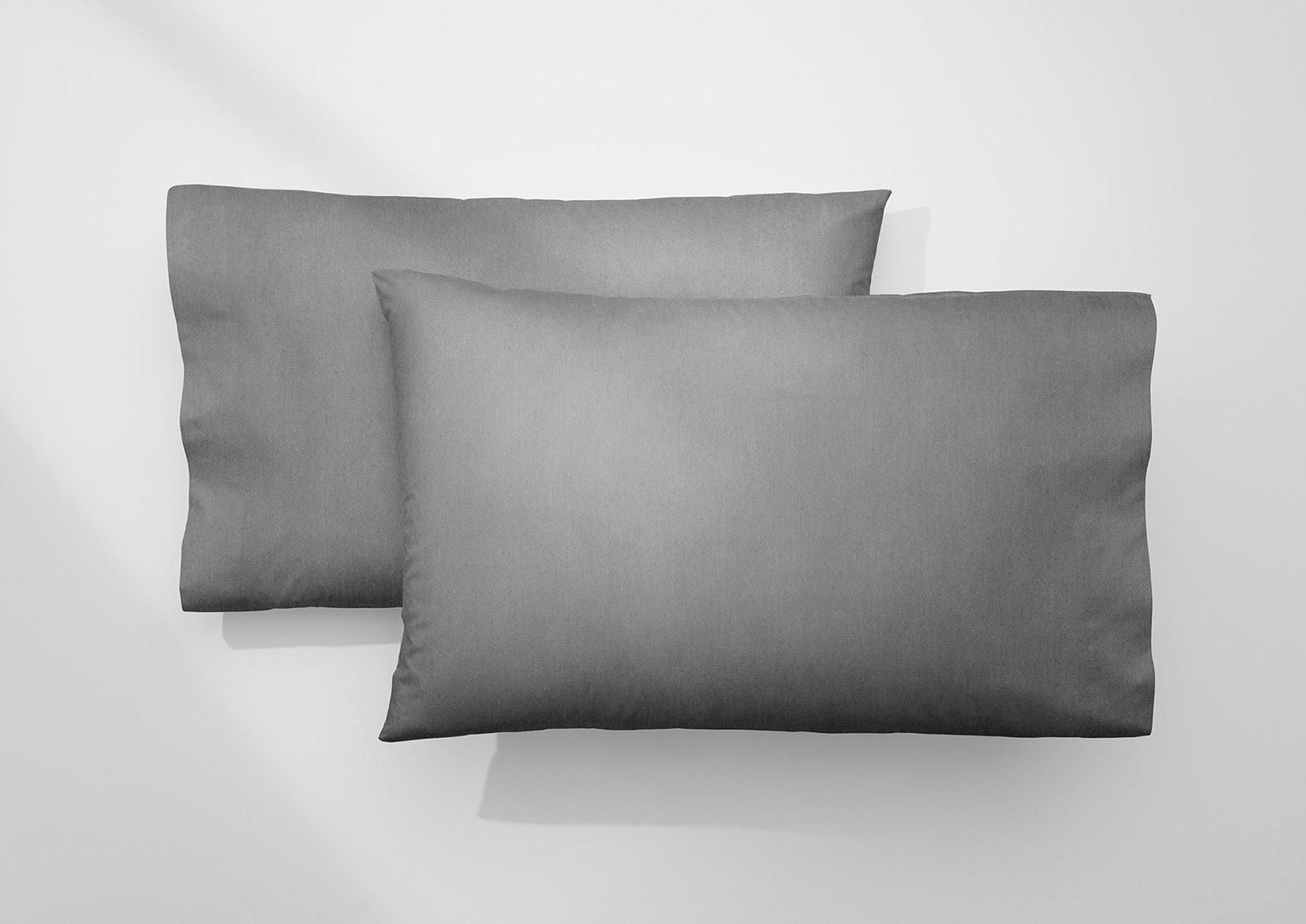 Cool Supima® Pillowcase Set, Slate
