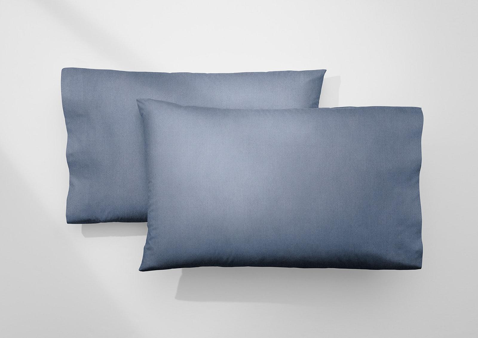 Cool Supima® Pillowcase Set, Azure