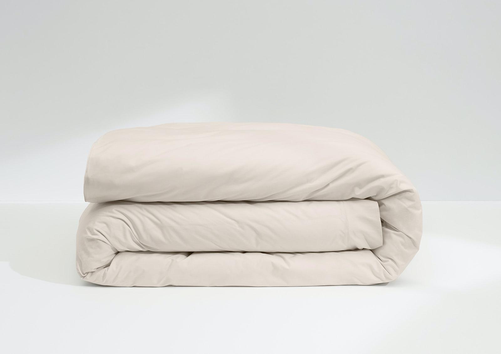Cool Supima® Duvet Cover, Cream