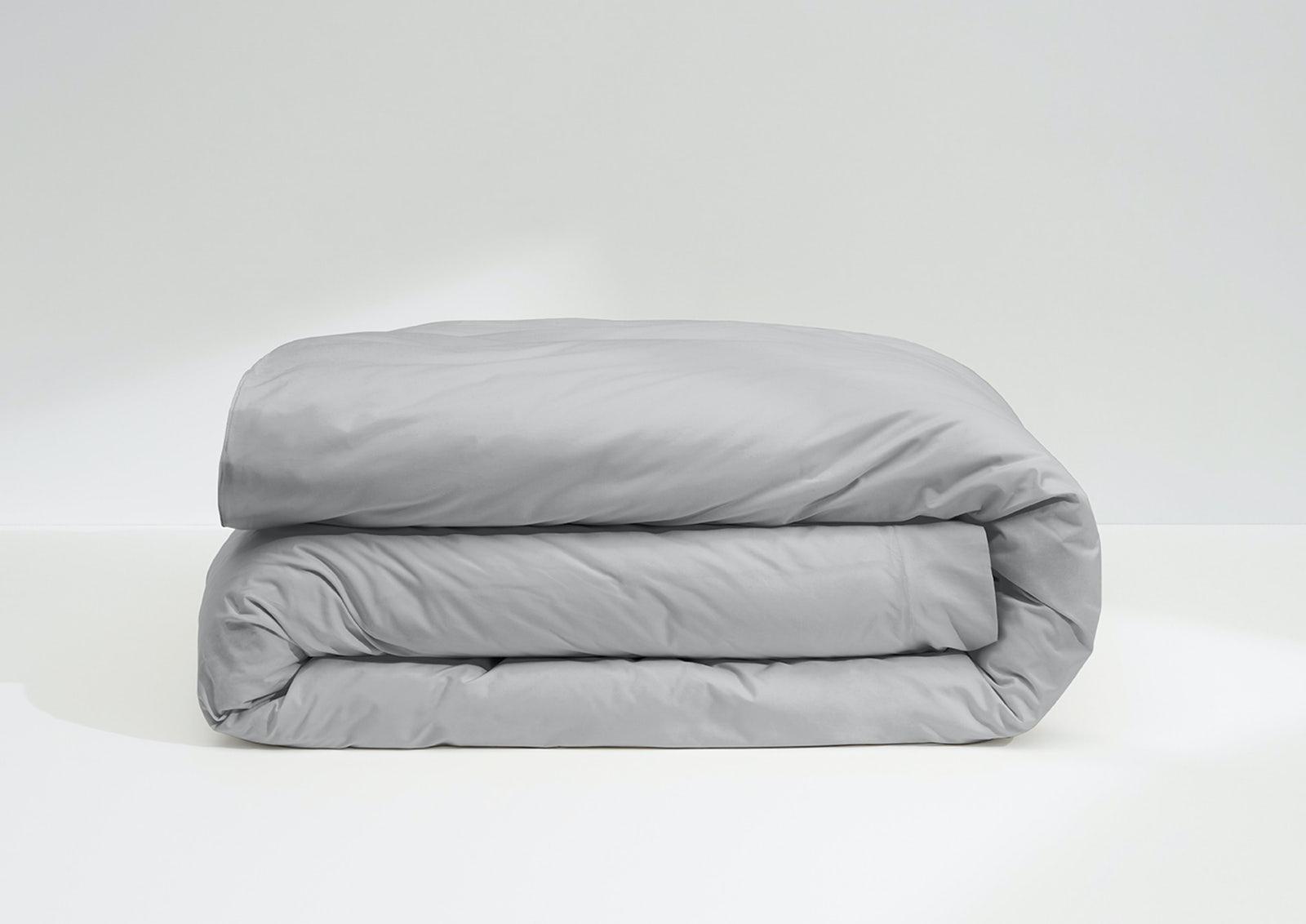 Cool Supima® Duvet Cover, Gray