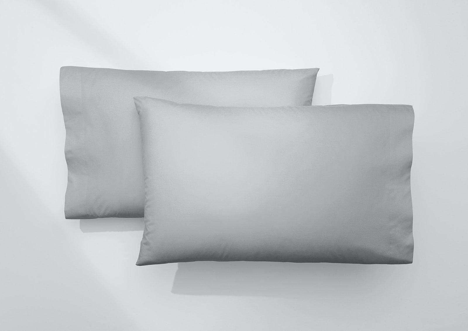 Cool Supima® Pillowcase Set, Gray