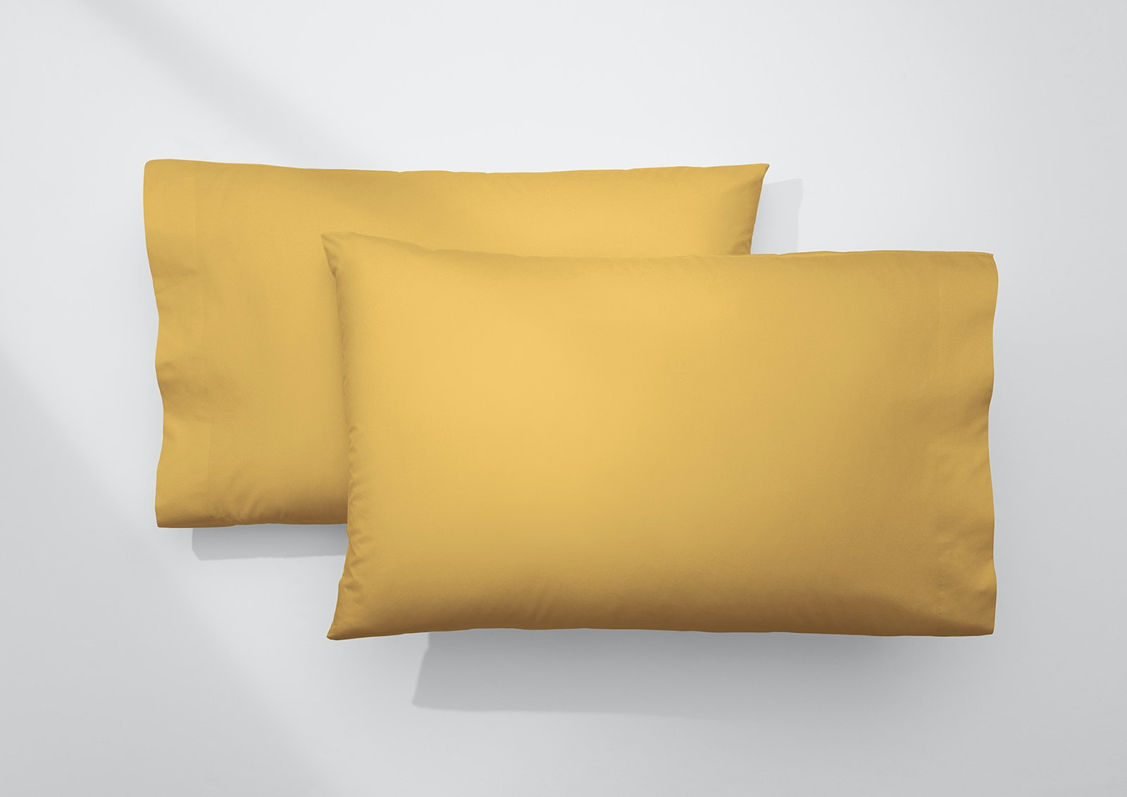 Cool Supima® Pillowcase Set, Honey