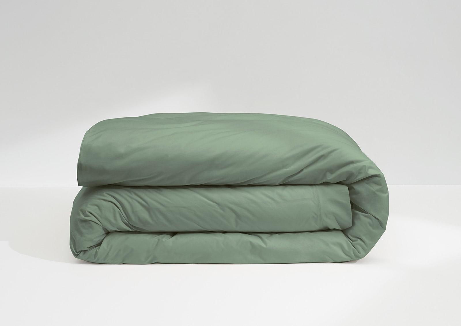 Cool Supima® Duvet Cover, Jade