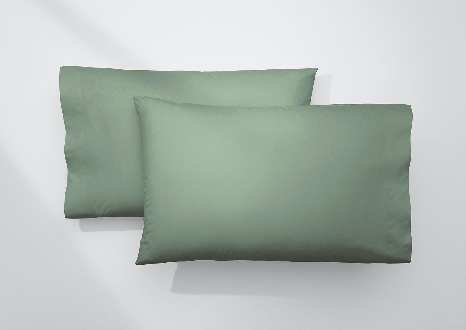 Cool Supima® Pillowcase Set, Jade