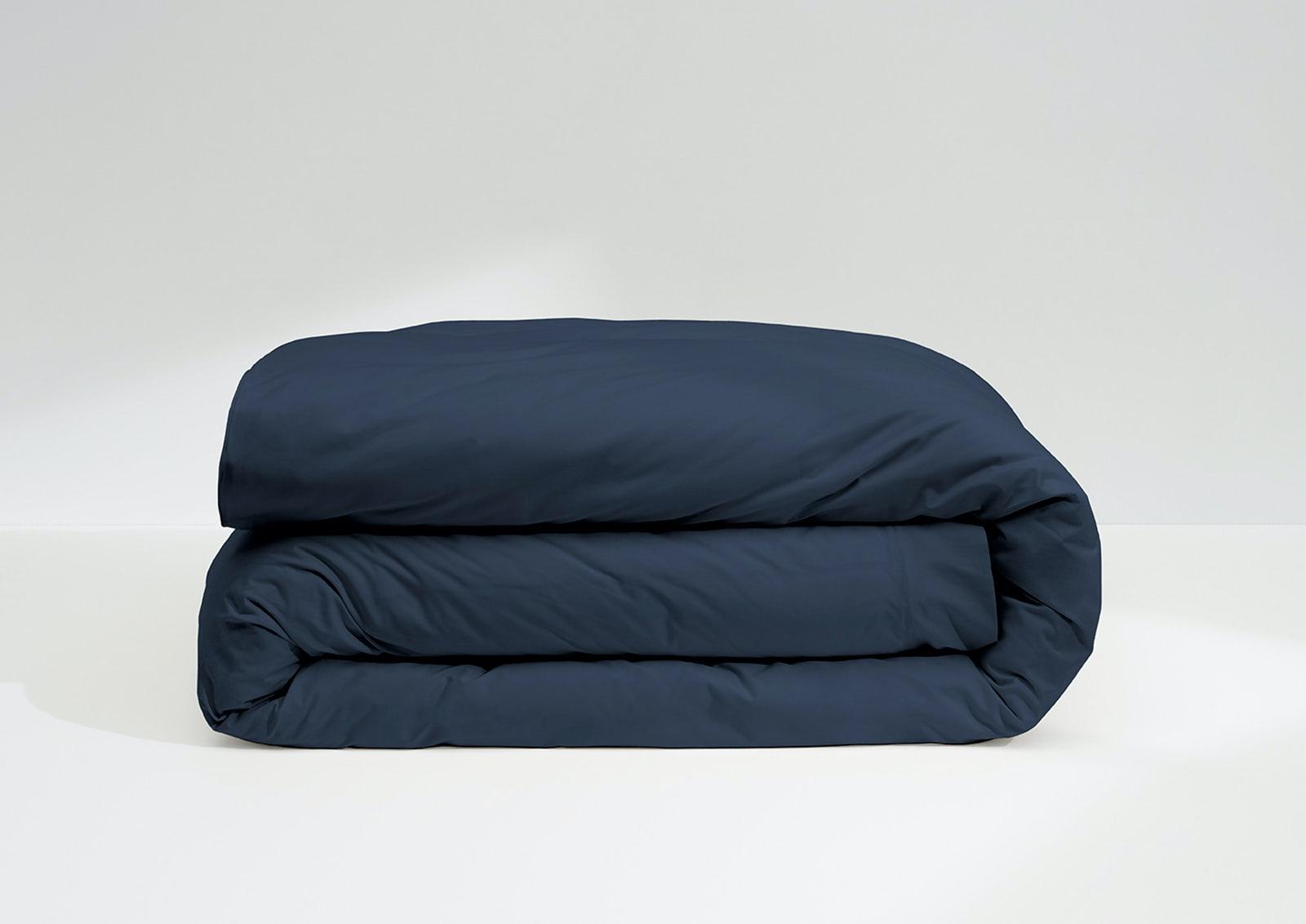 Cool Supima® Duvet Cover, Navy