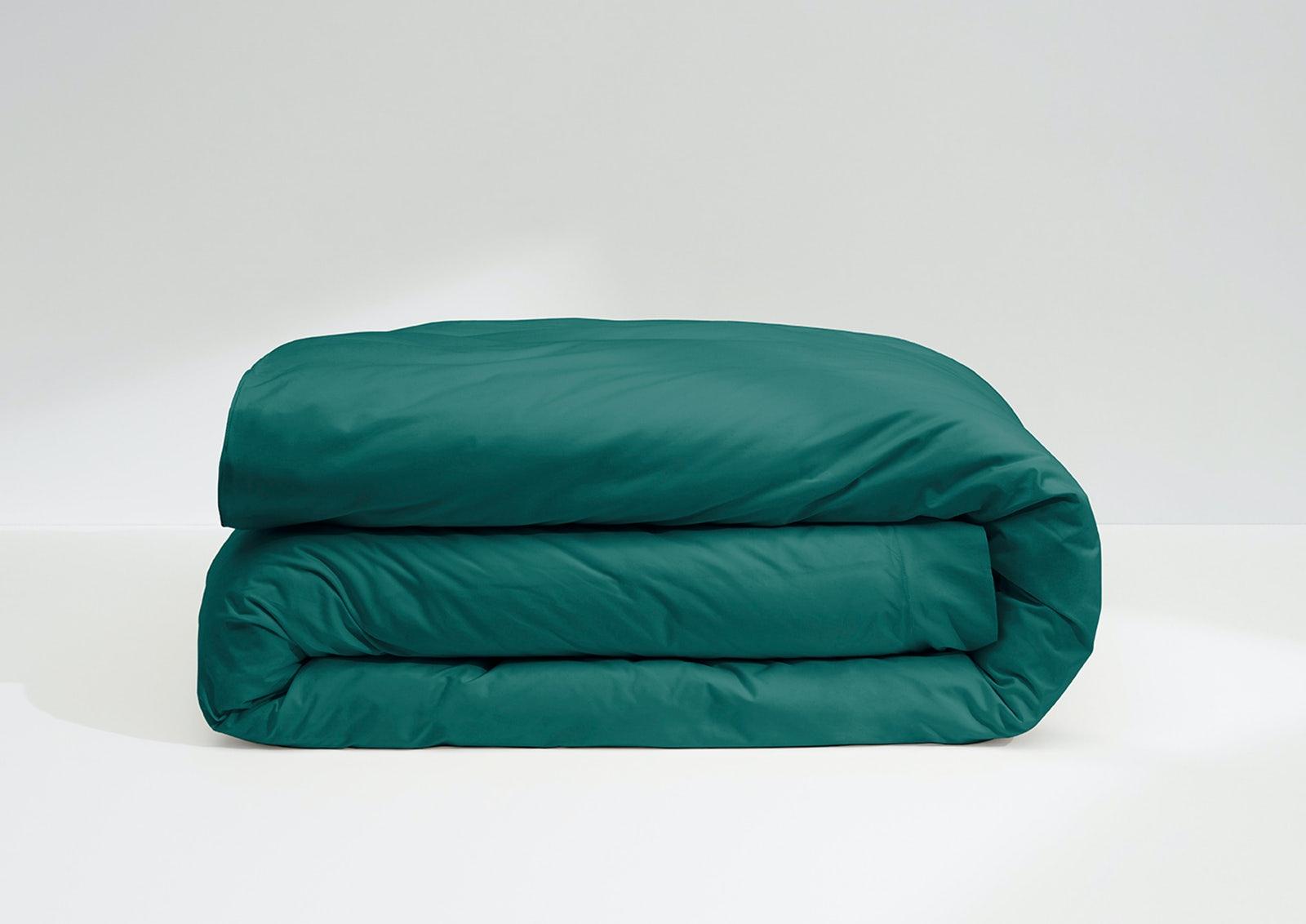 Cool Supima® Duvet Cover, Pine
