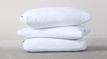 Pillows stacked on top of each other
