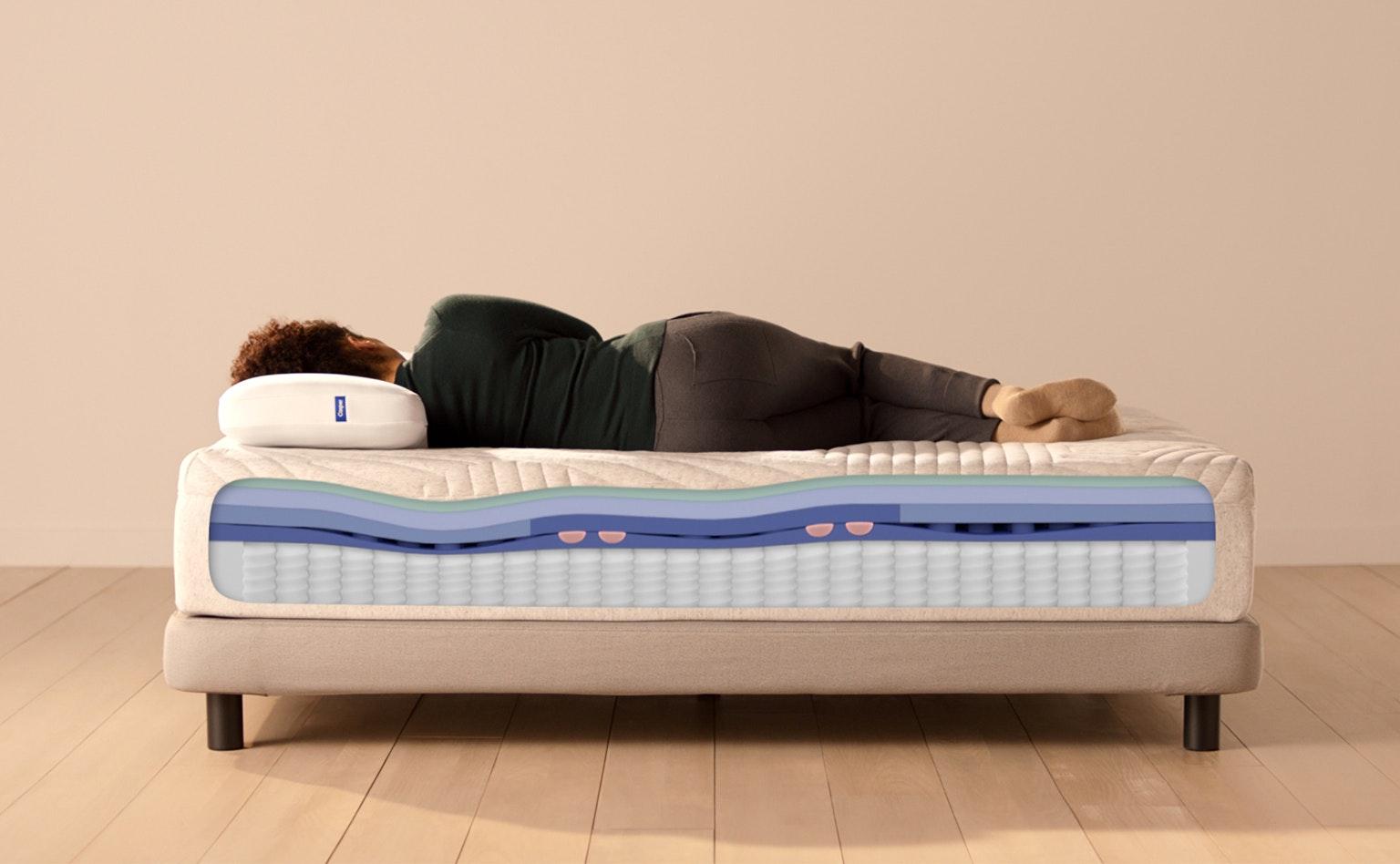 Wave Hybrid 2021 Best Mattress For Back Pain Casper