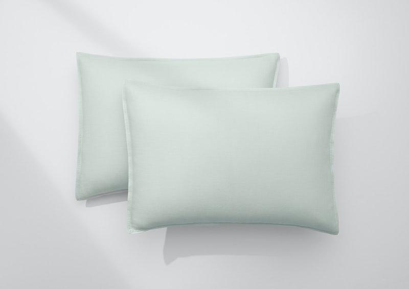 Airy Linen Pillowcase Set, Mist