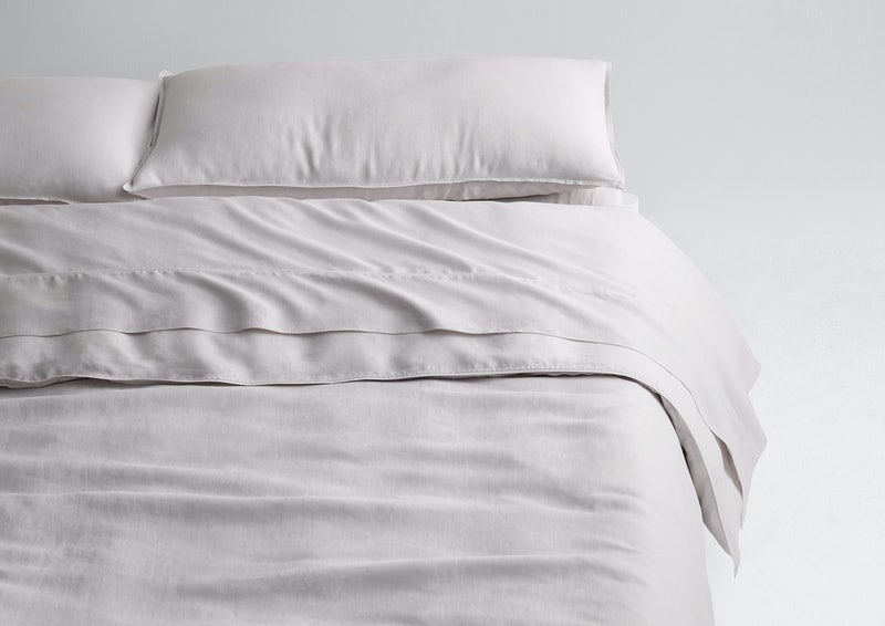 Airy Linen Sheet Set + Duvet Cover, Oat