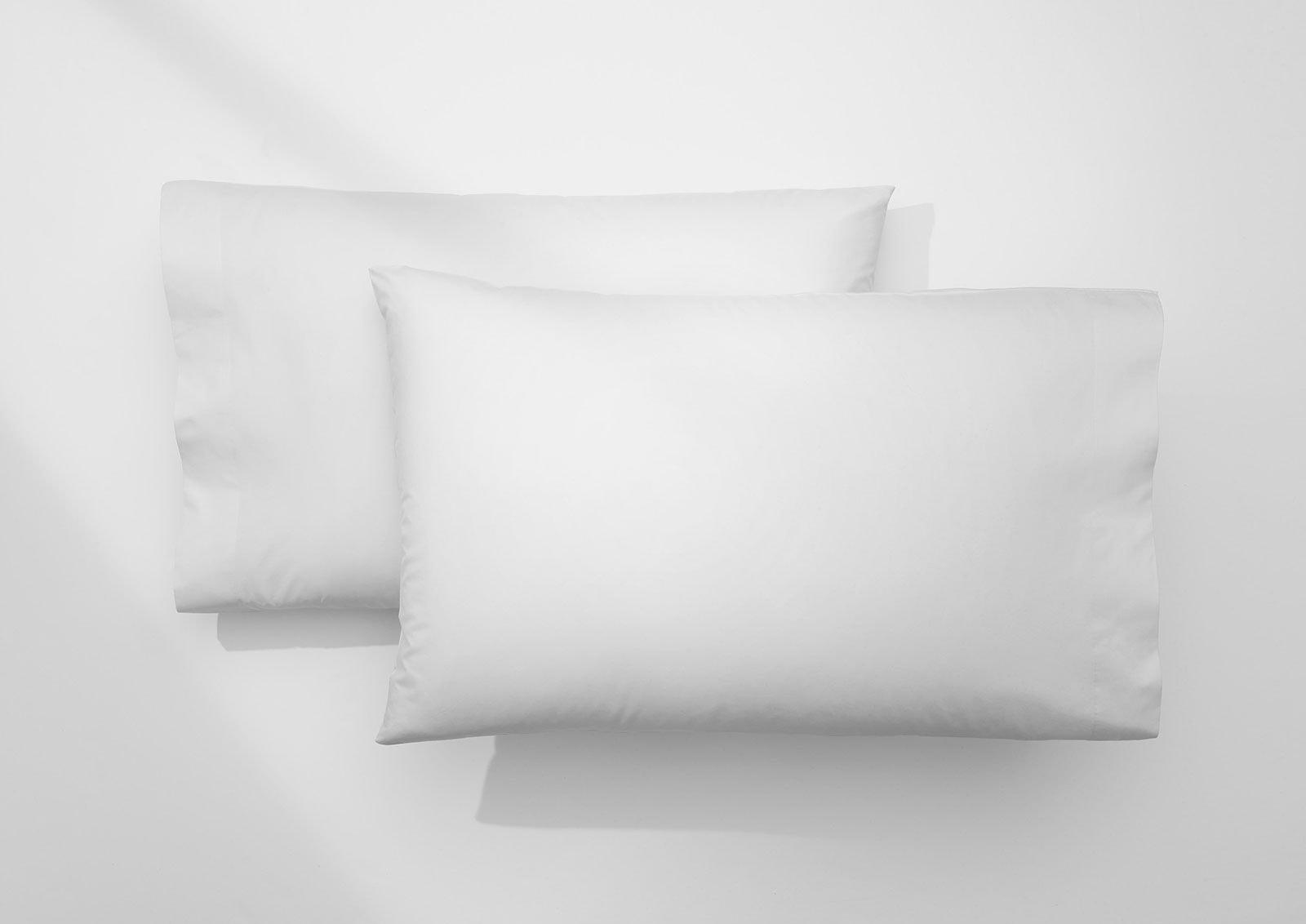 Supima® Doux ensemble de taies, Blanc