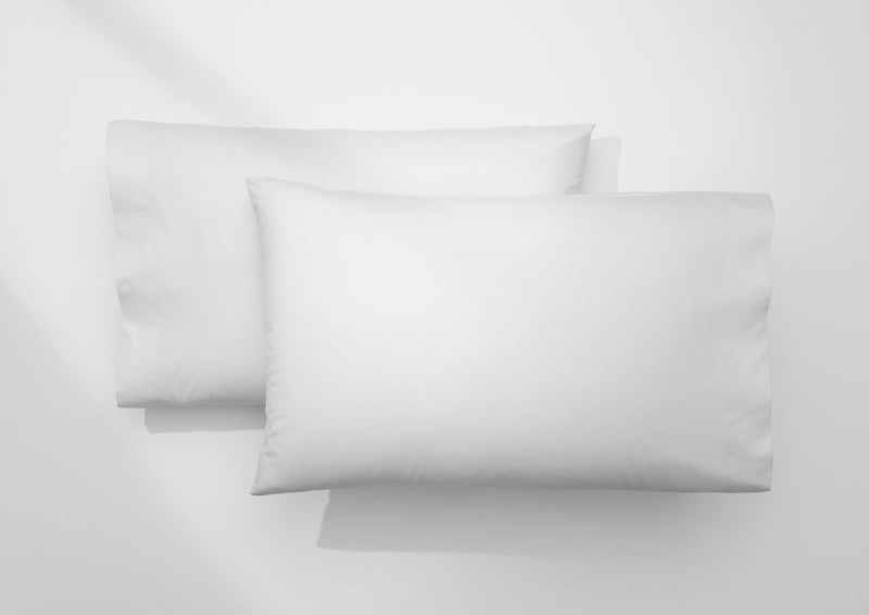 Cool Supima® Pillowcase Set, White