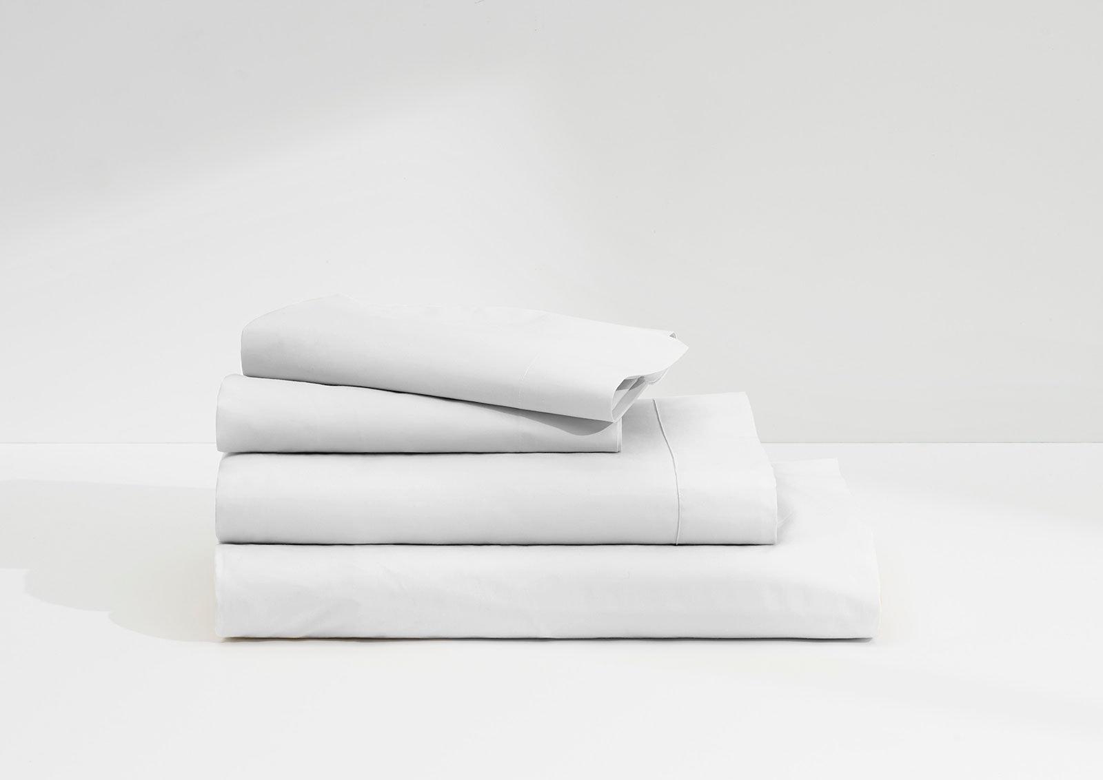 Sateen Sheet Set, White