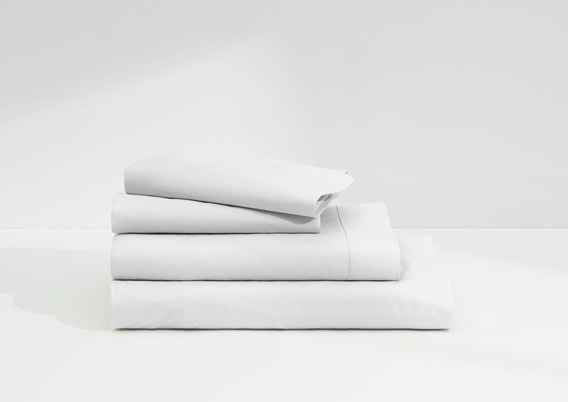 Sateen Sheet Set, White