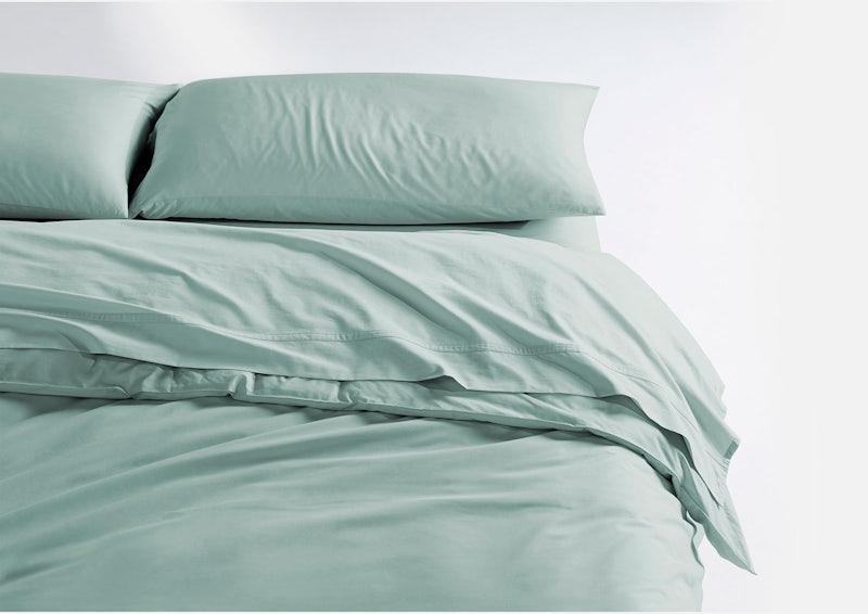 Weightless Cotton Sheet Set + Duvet Cover, Mint