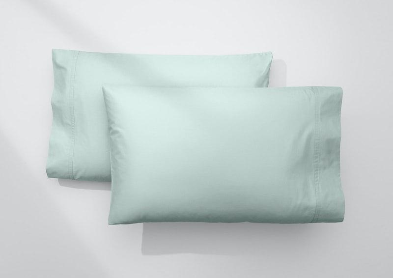 Weightless Cotton Pillowcase Set, Mint