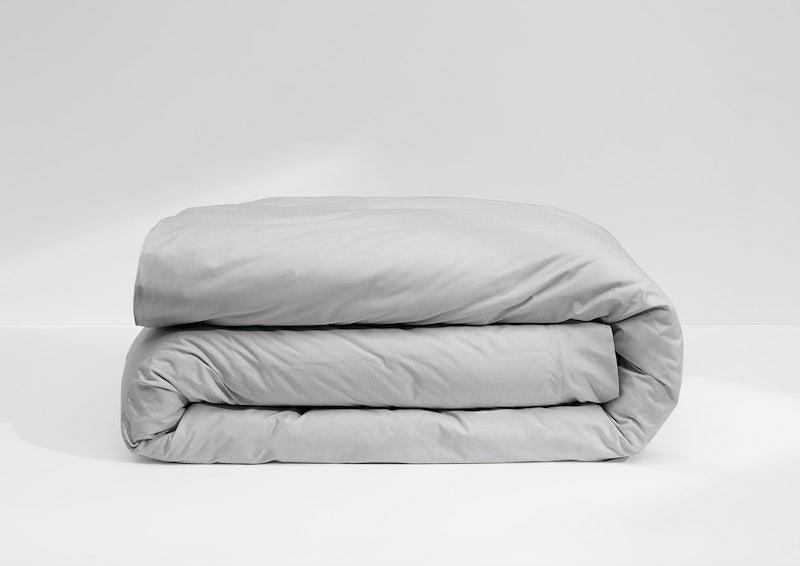 Weightless Cotton Duvet Cover, Quiet Gray