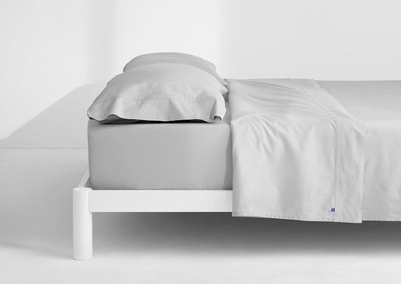 Weightless Cotton Sheet Set, Quiet Gray