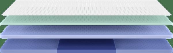 Wave mattress cooling