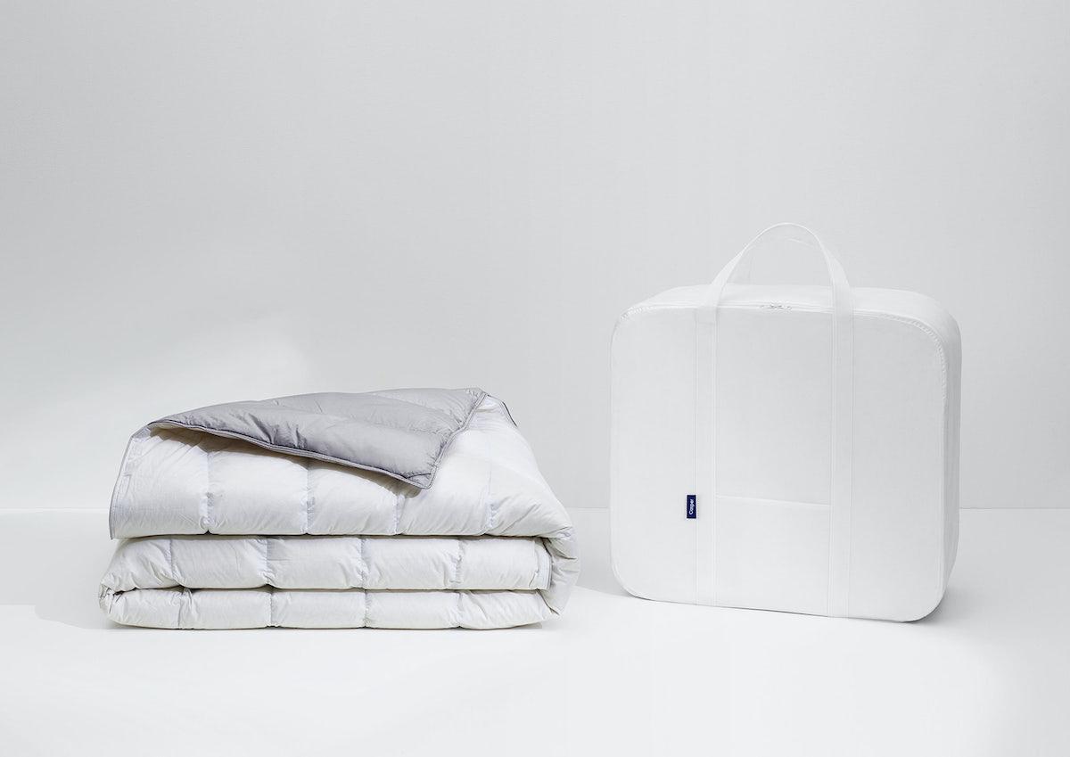 Die Merino-Daunen-Bettdecke