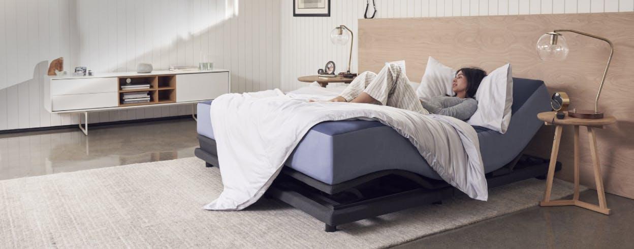 Le lit réglable
