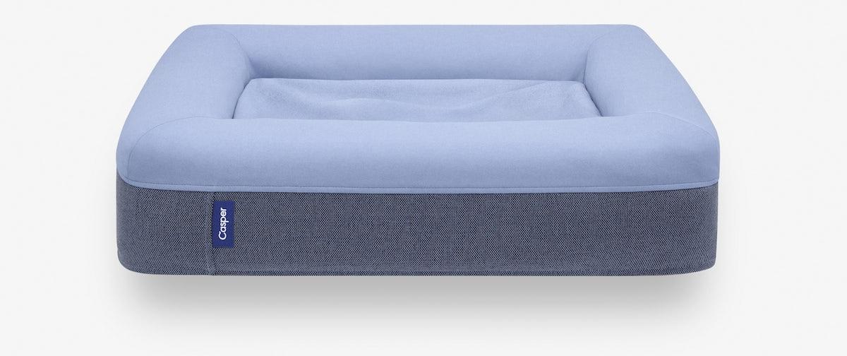 The blue Casper Dog Bed