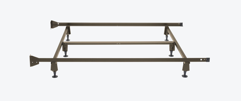 Modest Metal Bed Frame Set