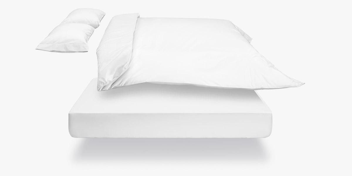 Casper White-White Sheets (Set)