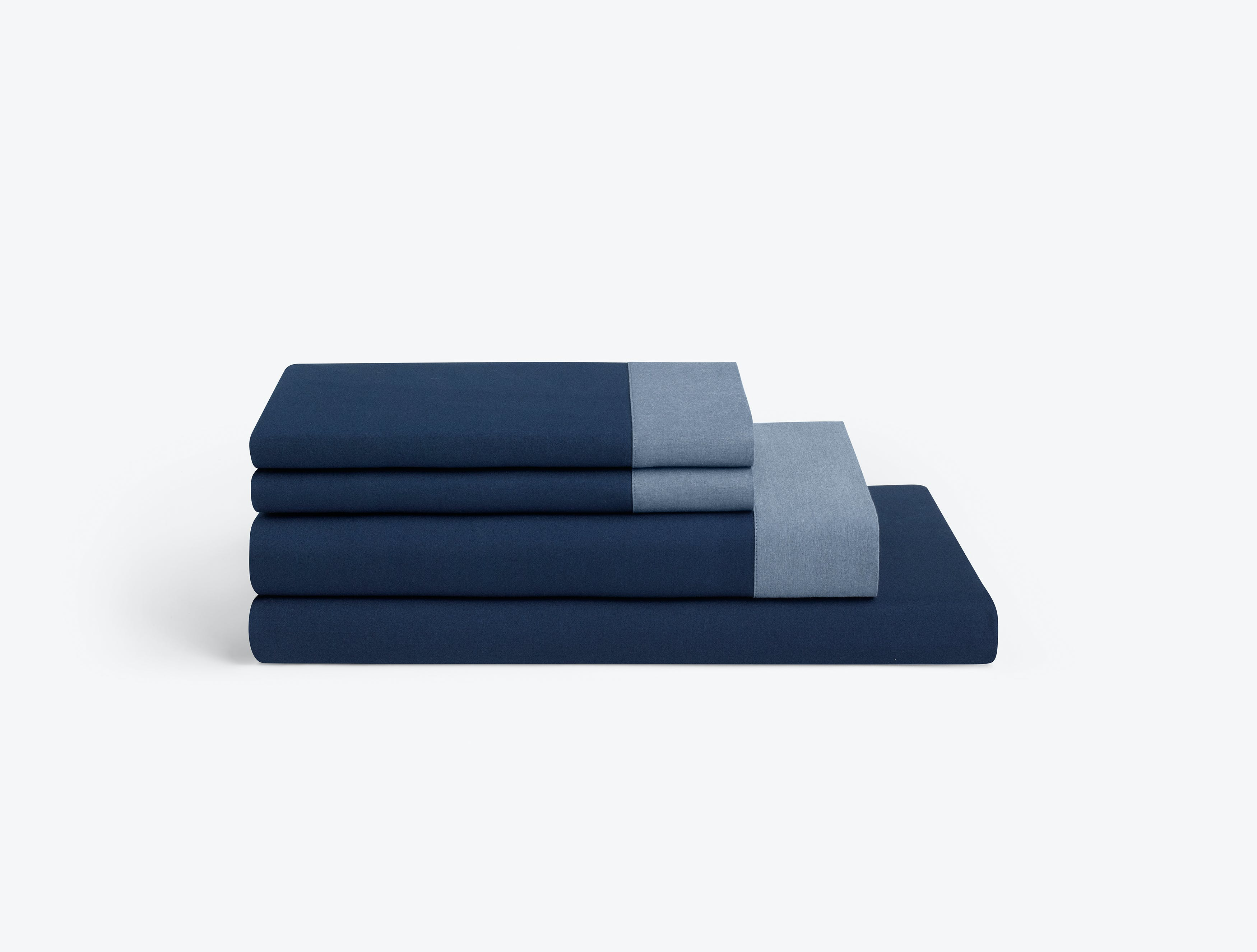 Casper Navy-Azure Sheets (Set)