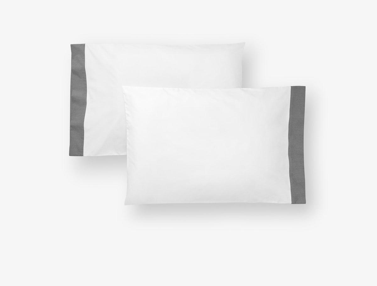 Casper White-Chambray Sheets (Pillowcase)