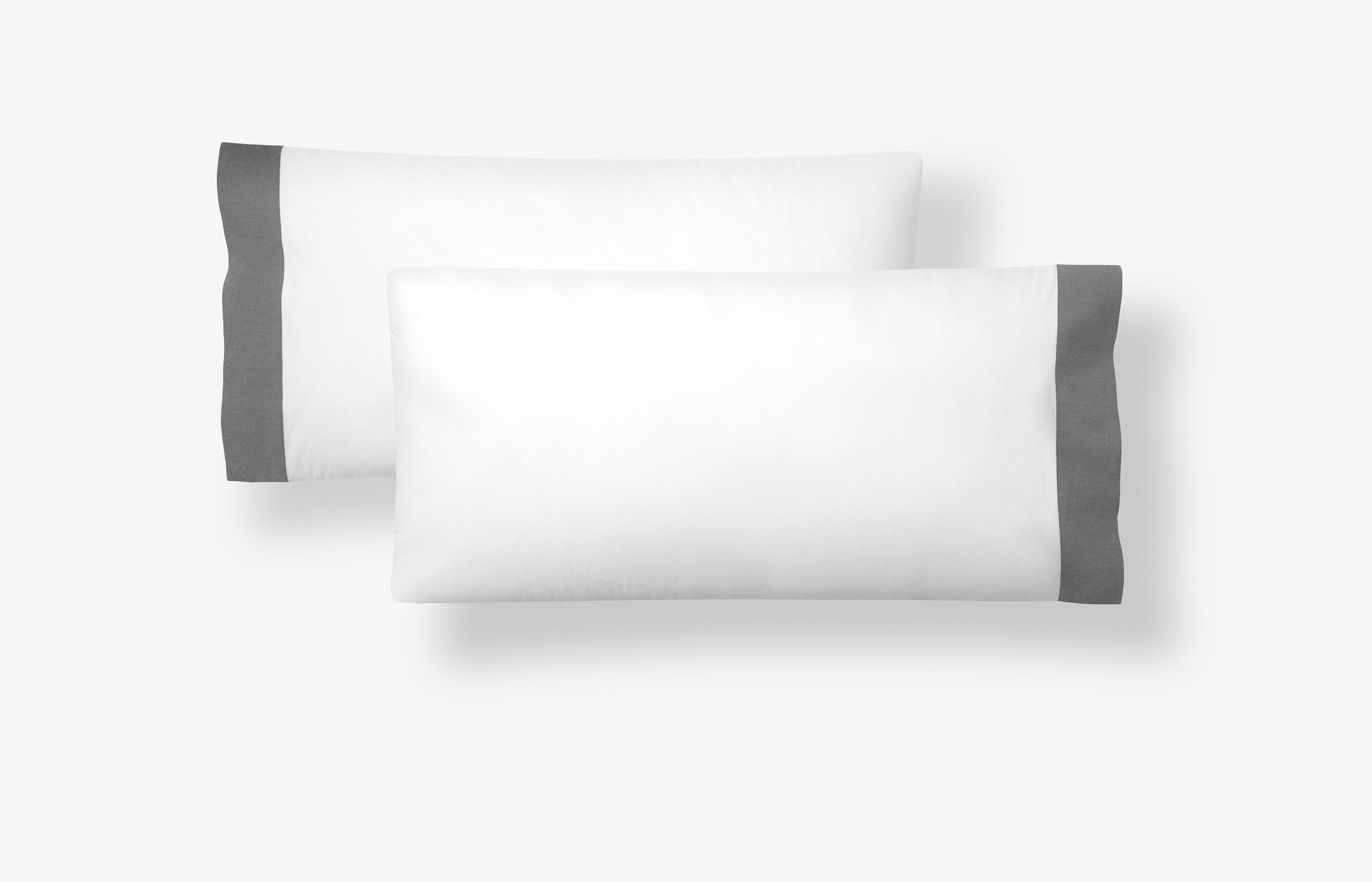 Casper Bettwäsche Kissenbezug – chambray Weiß