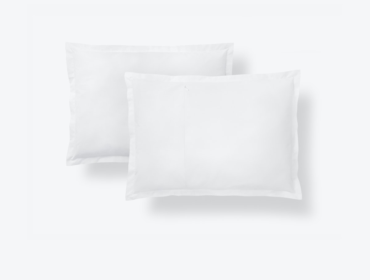 Casper White-White Sheets (Pillowcase)