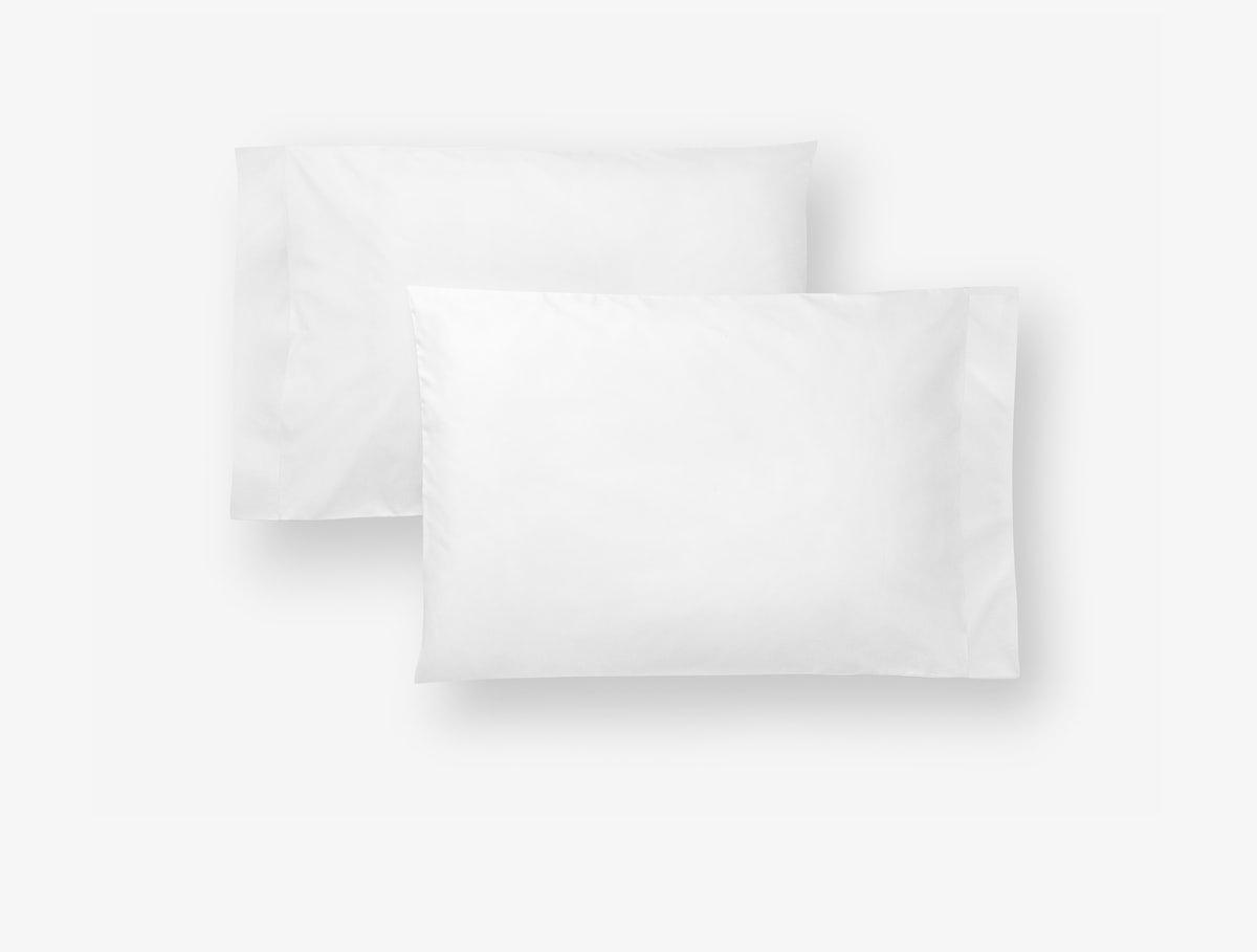 Casper White-White Sheets (Pillowcase)