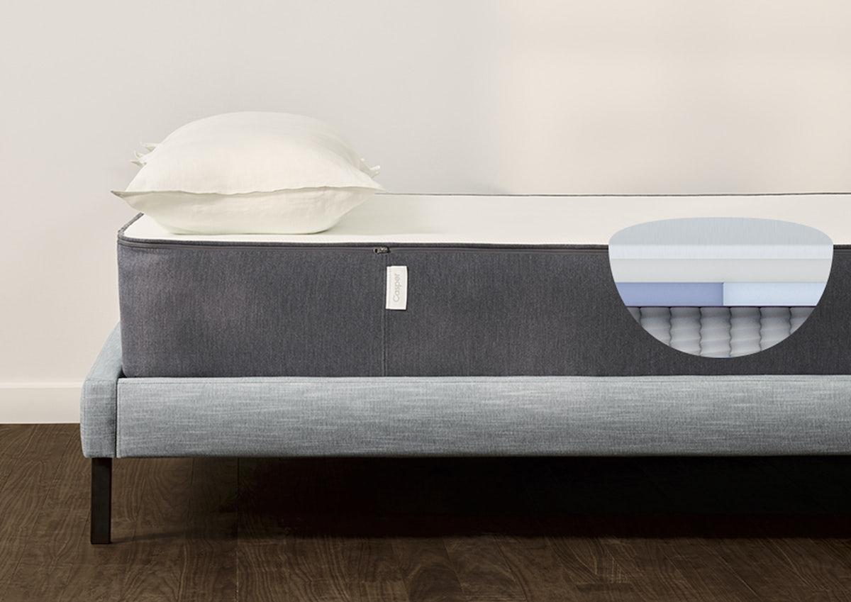 The Casper Hybrid Foam Springs For Luxurious Sleep