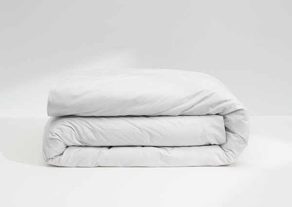 Sateen Duvet Cover, White