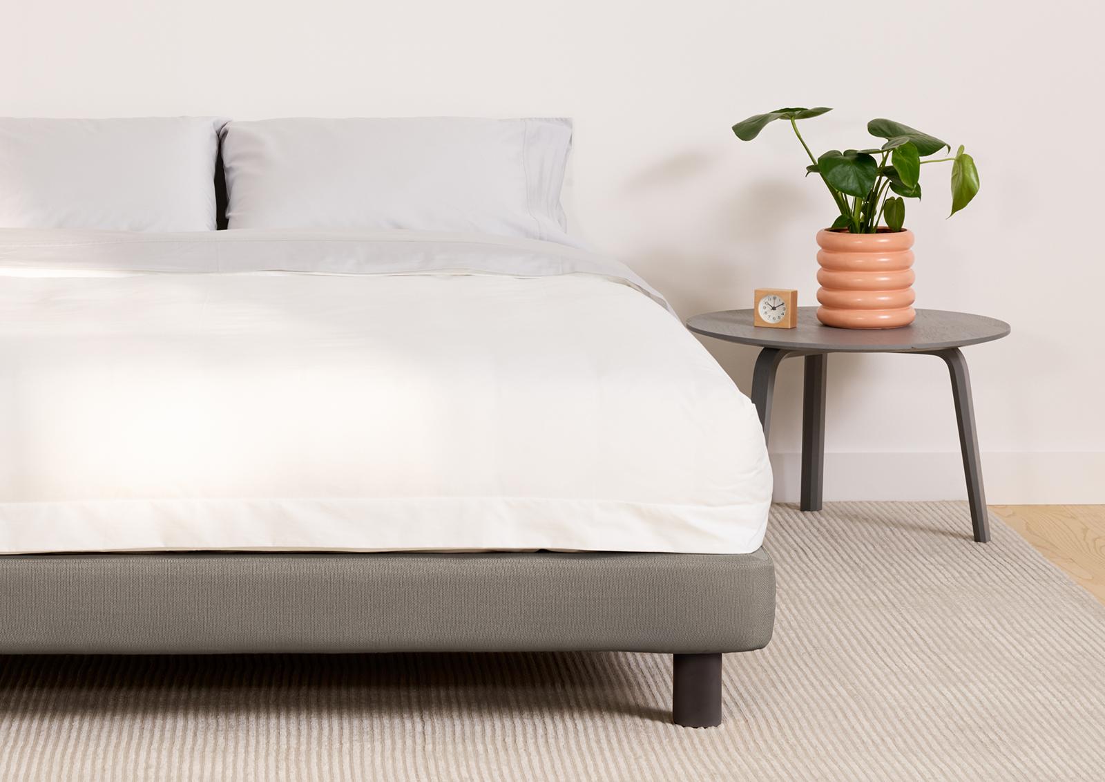 Picture of: Upholstered Bed Frame King Queen Full Casper