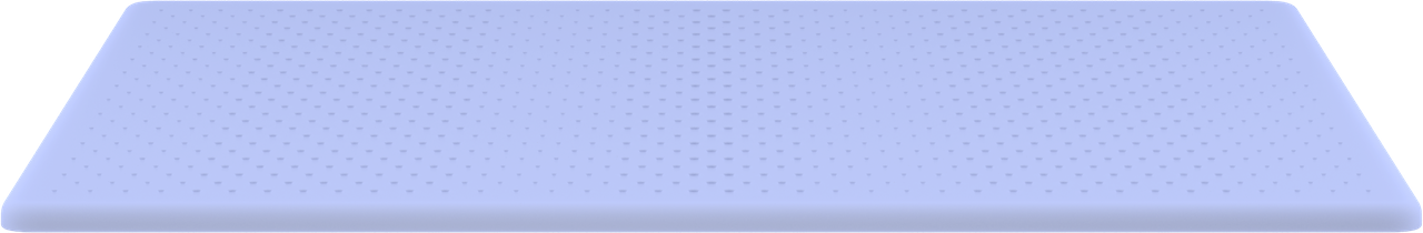 Original mattress top layer render