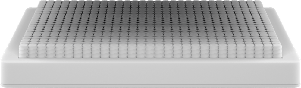 Wave Hybrid mattress bottom layer render