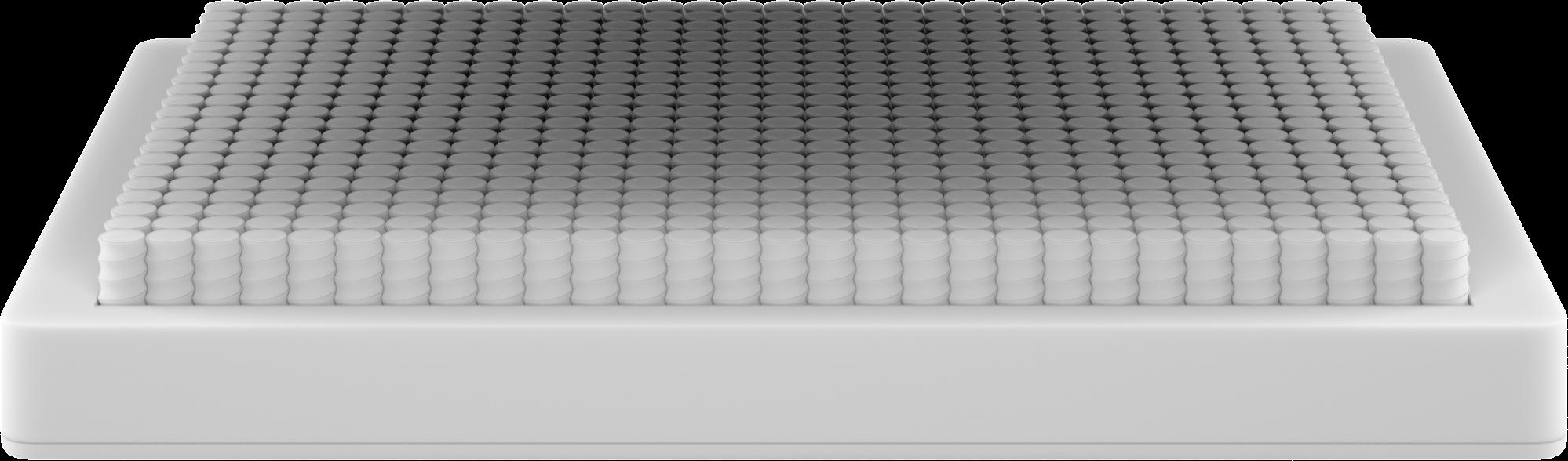 Wave Hybrid mattress bottom layer render