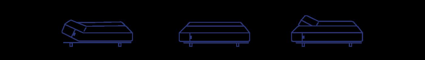 Adjustable Base configurations