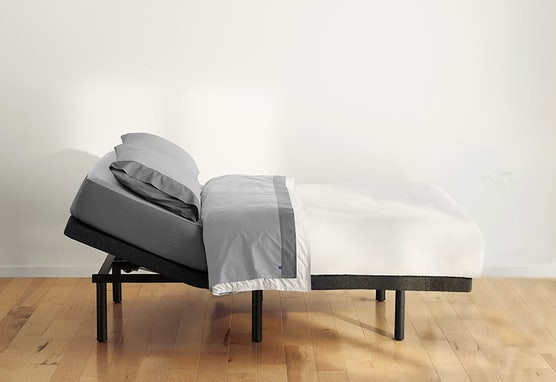 The Adjustable Bed Frame with head raised