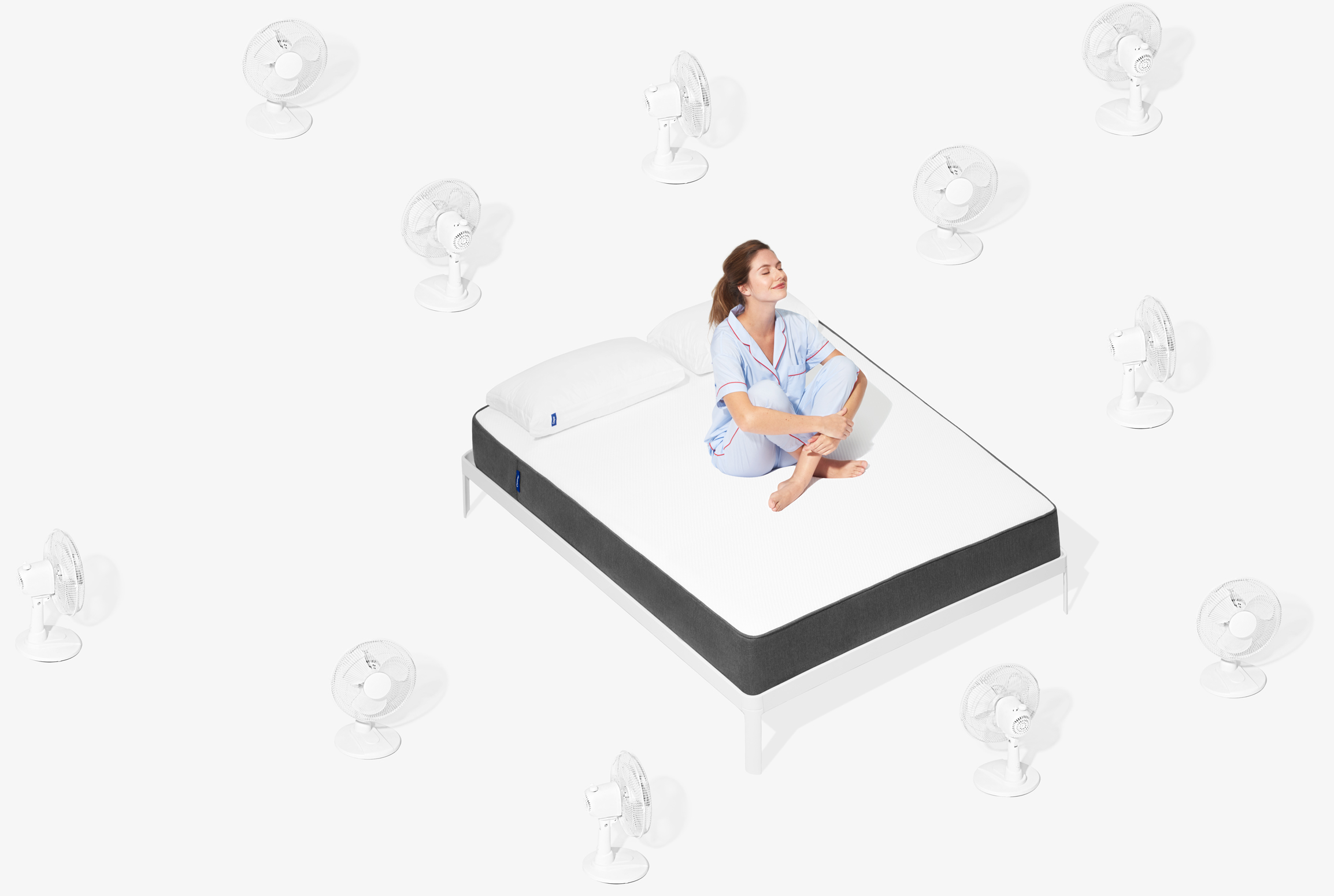 Woman on Casper Mattress