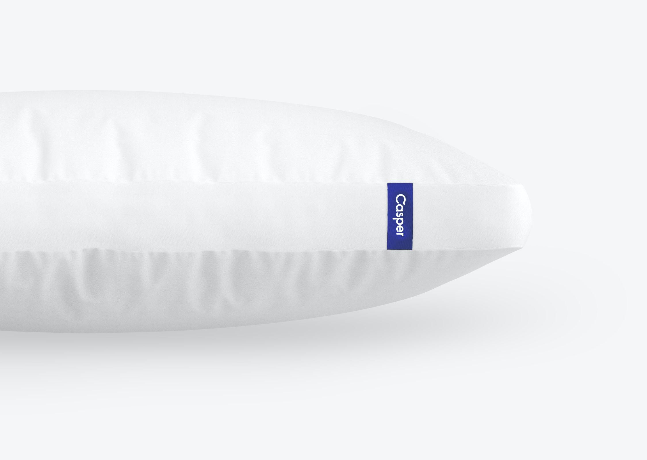 close up of the casper pillow