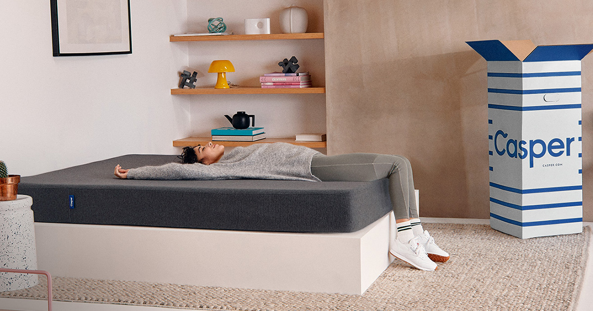 matelas essentiel la qualit sup rieure prix doux casper. Black Bedroom Furniture Sets. Home Design Ideas