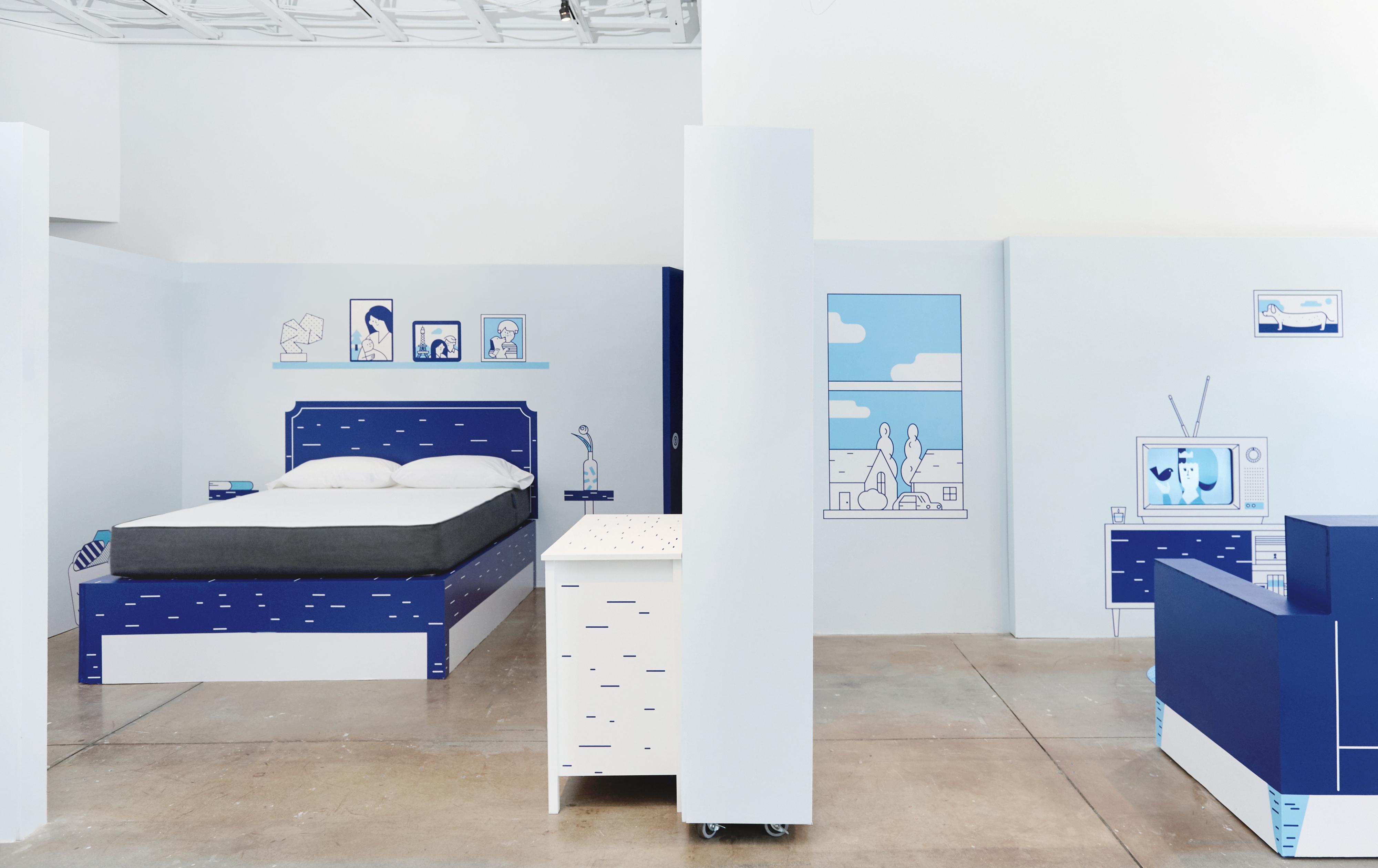 The Casper House LA (Livingroom)