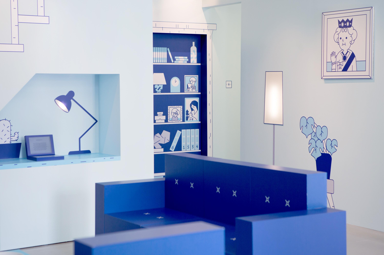 The Casper House London (Living Room)