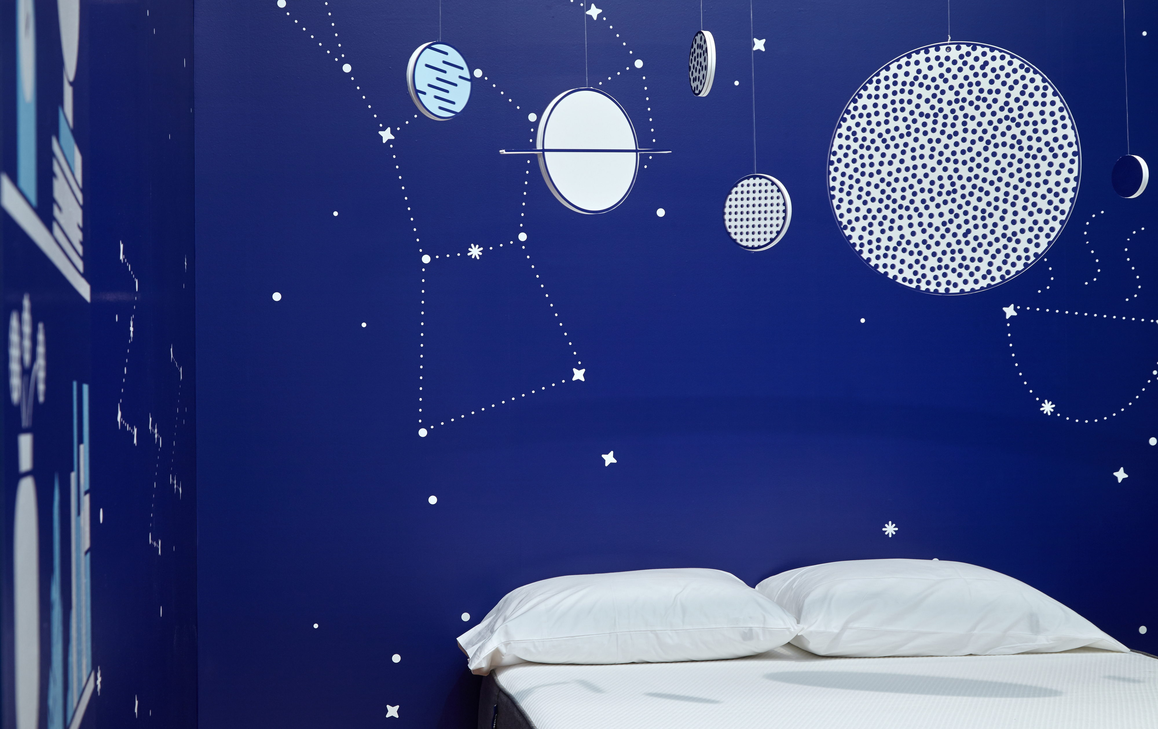 Casper NYC Pop-up Constellations