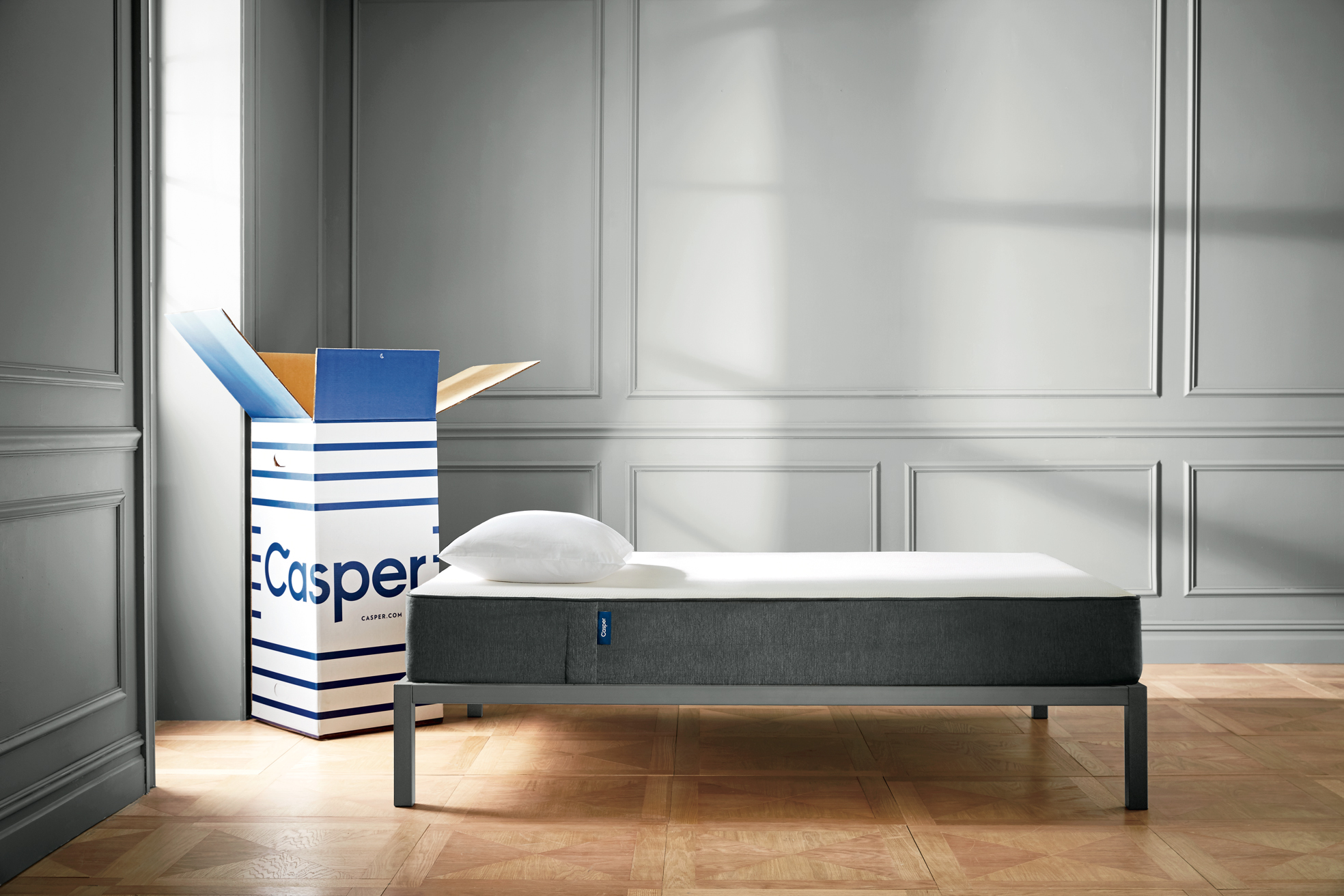 try casper at over 70 west elm locations casper. Black Bedroom Furniture Sets. Home Design Ideas
